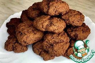 Рецепт: Песочное постное печенье