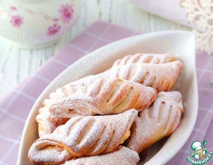 Рецепт: Сливочное печенье с творогом