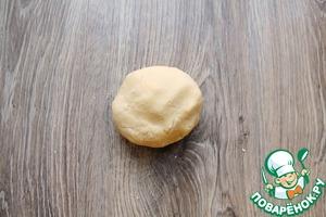 Печенье с курагой и черносливом Сахарная пудра