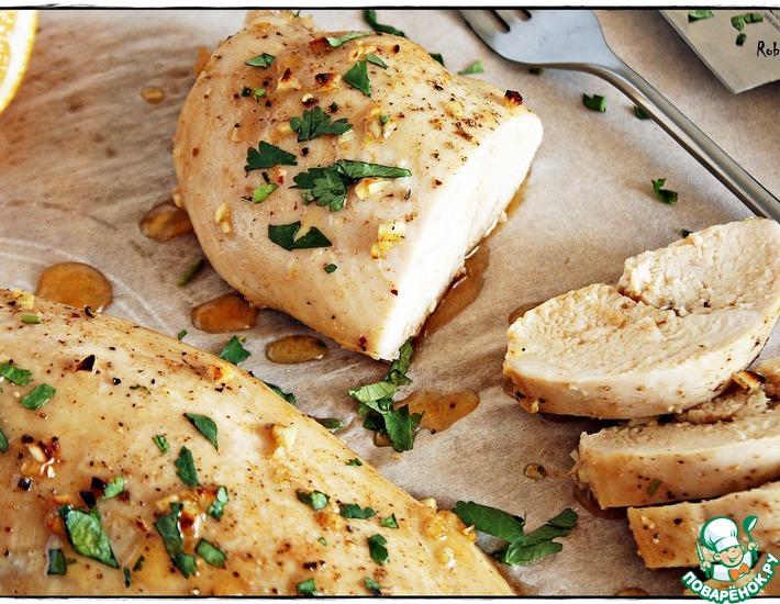 Рецепт: Быстрое куриное филе