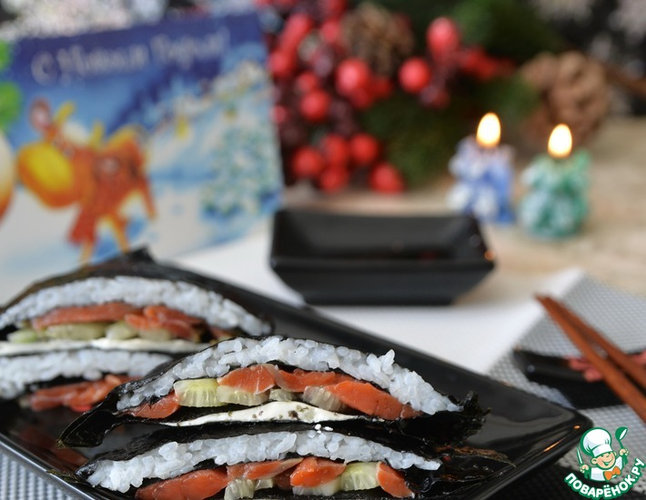 Рецепт: Закуска для любителей суши