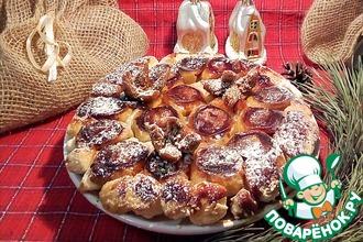 Рецепт: Тарт татен с яблоками и инжиром