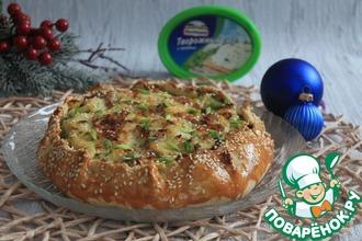 Рецепт: Галета с картофелем, беконом и сыром
