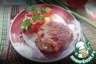 Рецепт: Яблочный маринад для мяса