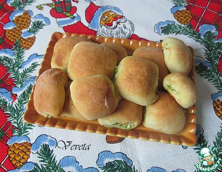 Рецепт: Пирожки-малышки из чудо-теста