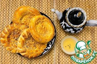 Рецепт: Настоящие Узбекские лепешки на молоке