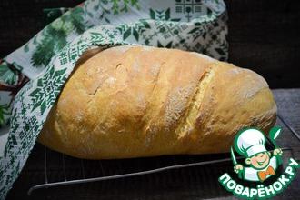 Рецепт: Белый хлеб в рукаве