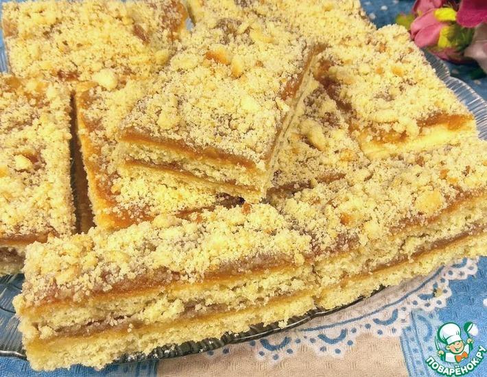 Рецепт: Пирожное из детства Золотая осень