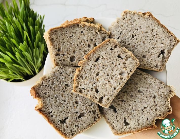 Рецепт: Хлеб из зеленой гречки