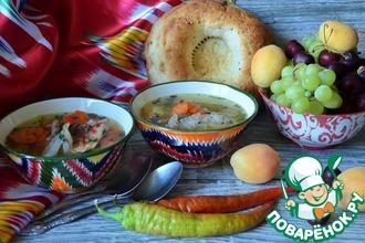 Рецепт: Узбекская шурпа