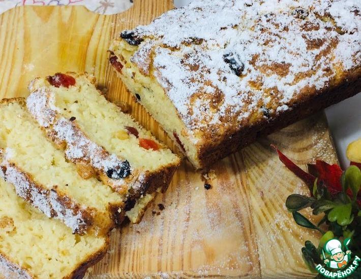 Рецепт: Полезное французское пирожное  Мерси