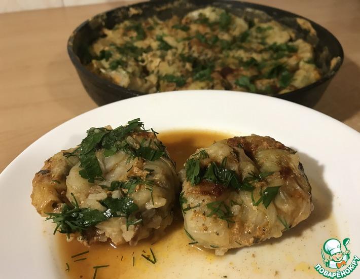 Рецепт: Голубцы в сковороде по-новому