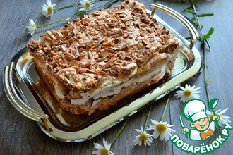 Рецепт: Норвежский торт