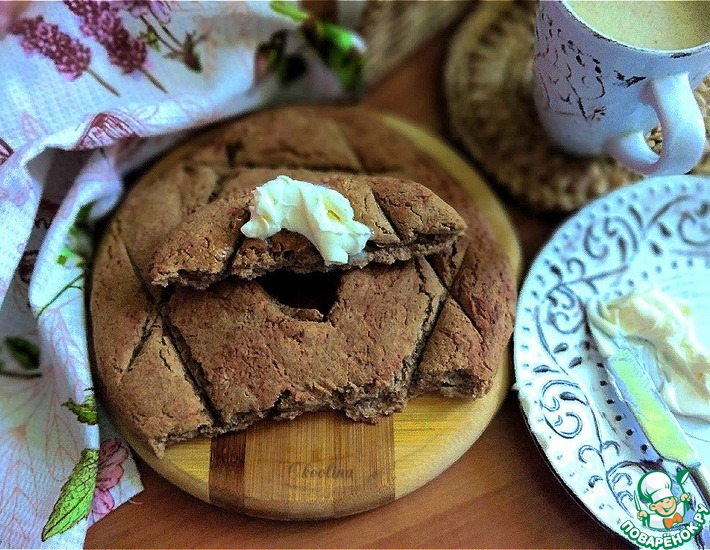 Рецепт: Финский хлеб Рейкялейпя