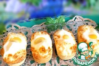 Рецепт: Корейский яичный хлеб Геран-панг