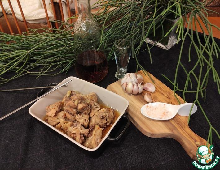 Рецепт: Куриные бедра в фольге