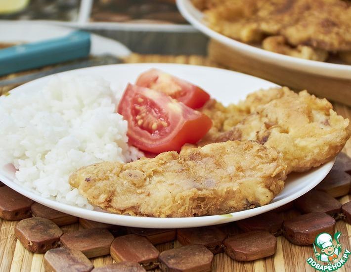 Рецепт: Пангасиус в яйце