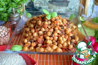 Рецепт: Нут по-индийски Чоле Масала