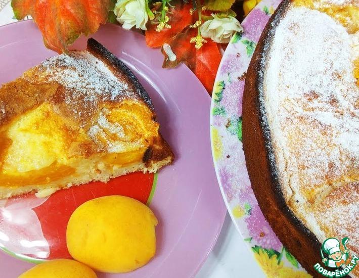 Рецепт: Сезонный солнечный пирог Ароматное лакомство