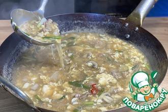 Рецепт: Китайский суп за 20 минут