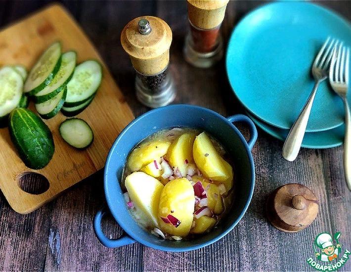 Рецепт: Венский картофельный салат