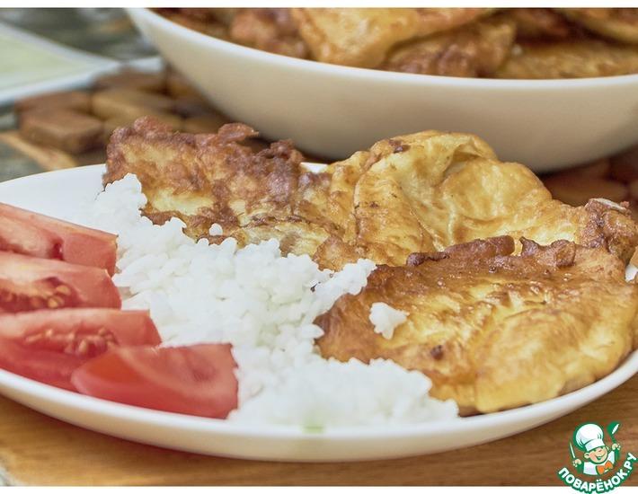 Рецепт: Пангасиус в сметанном кляре на сковороде