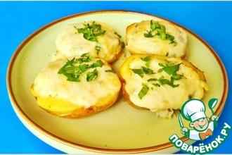 Рецепт: Запечённый картофель