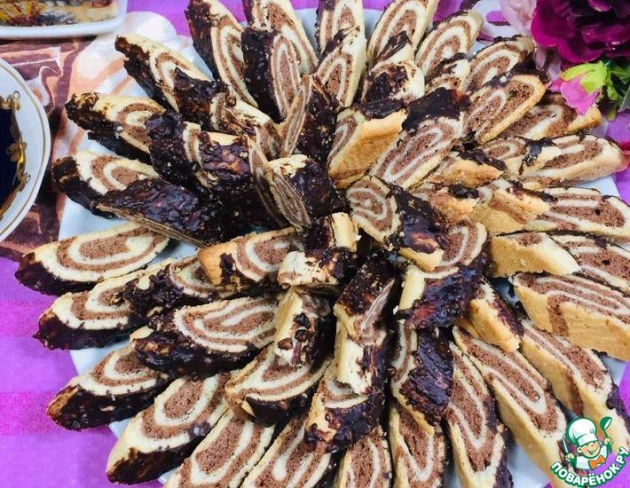 Рецепт: Бесподобное печенье ШокоЛимо