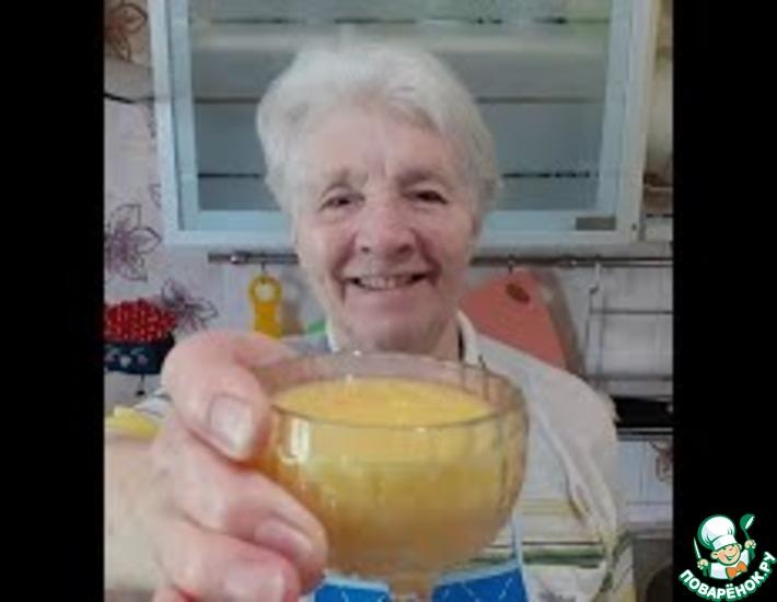 Рецепт: Апельсиновый курд. вкусный заварной апельсиновый крем
