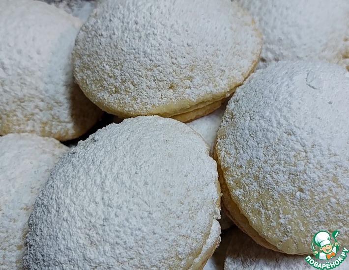 Рецепт: Нежное песочное печенье с итальянским акцентом