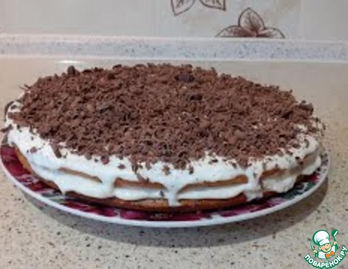 Рецепт: Семейный старинный рецепт торта кугель