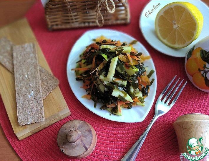 Рецепт: Салат с морской капустой