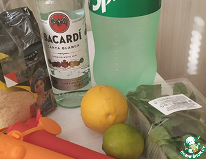 Рецепт: Алколёд Мохито