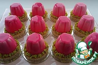 Рецепт: Муссовые пирожные Клубника со сливками