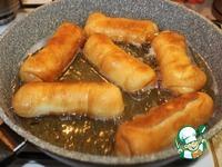 Жареные пирожки с печенью и рисом ингредиенты