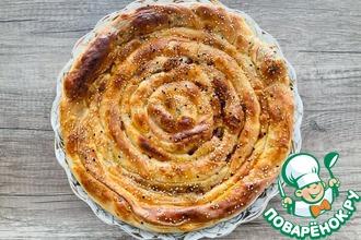 Рецепт: Турецкий пирог бурек с мясом