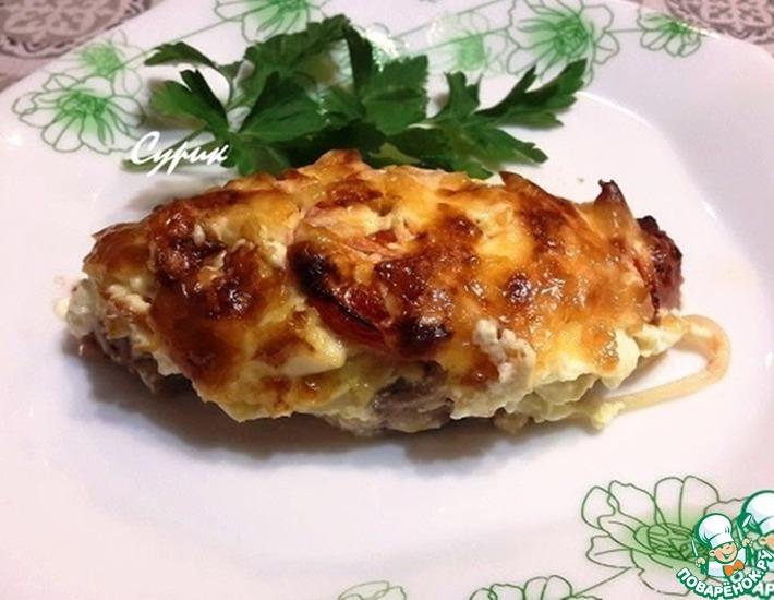 Рецепт: Мясо по-французски Французский букет