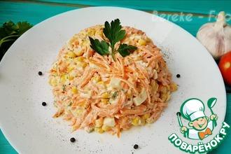 Рецепт: Бузумно вкусный салат из трех ингредиентов