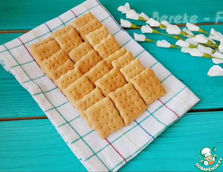 Рецепт: Печенье Крокет за 10 минут