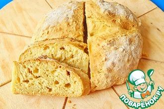 Рецепт: Хлеб без дрожжей