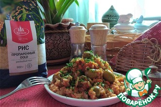 Рецепт: Рис в томатном соусе