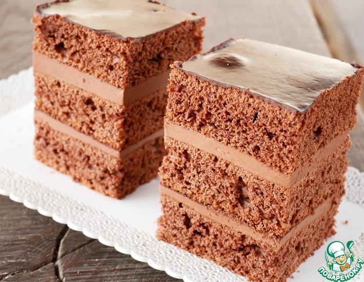 Рецепт: Торт Пражский старинный