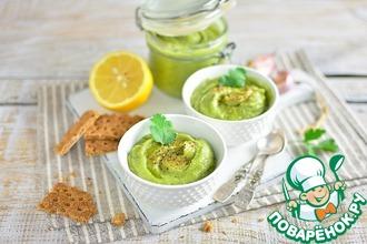 Рецепт: Хумус из фасоли и авокадо