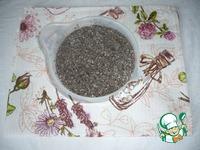 Котлеты гречневые с грибами и чиа ингредиенты