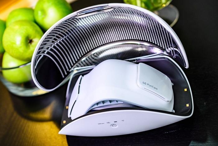 Технологии на службе здоровья в индивидуальном очистителе воздуха LG PURI CARE