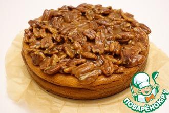 Рецепт: Чизкейк с орехом пекан