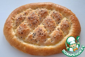 Рецепт: Узбекская лепешка на молоке