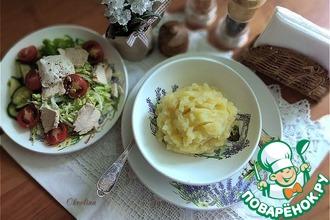 Рецепт: Необыкновенное картофельное пюре