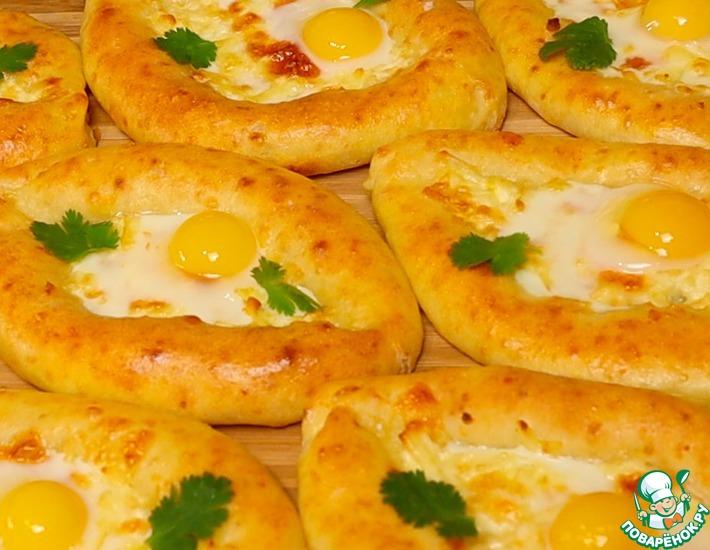 Рецепт: Хачапури без дрожжей