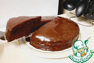 Рецепт: Торт Шоколадная мечта